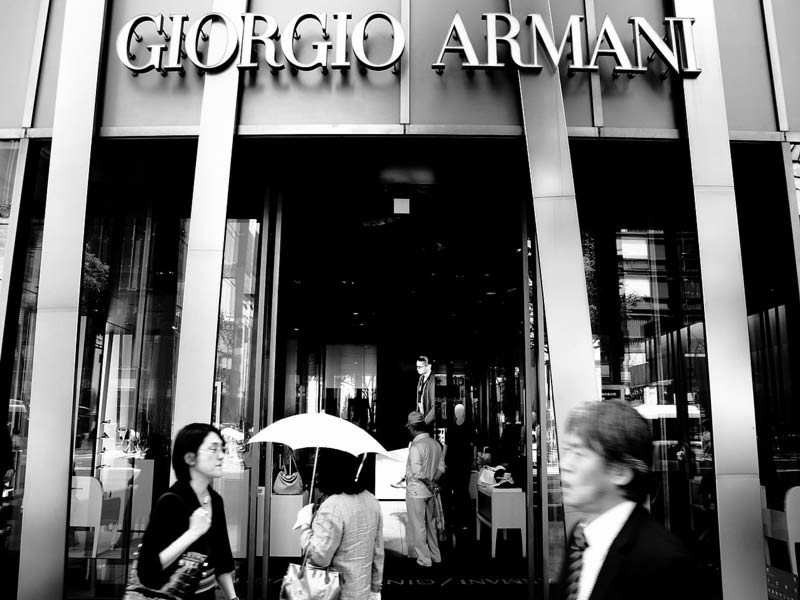 Giorgio Armani and DKNY Retail commission management